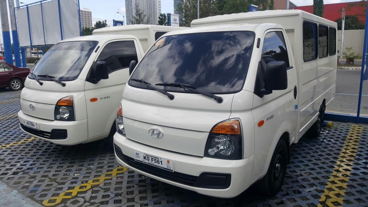 Hyundai H100 euro4 with dual AC, Cars for Sale on Carousell
