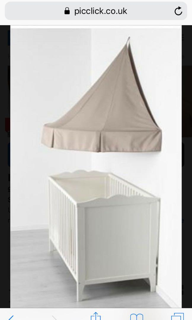 Ikea Bed Canopy Babies Kids Cots Cribs On Carousell