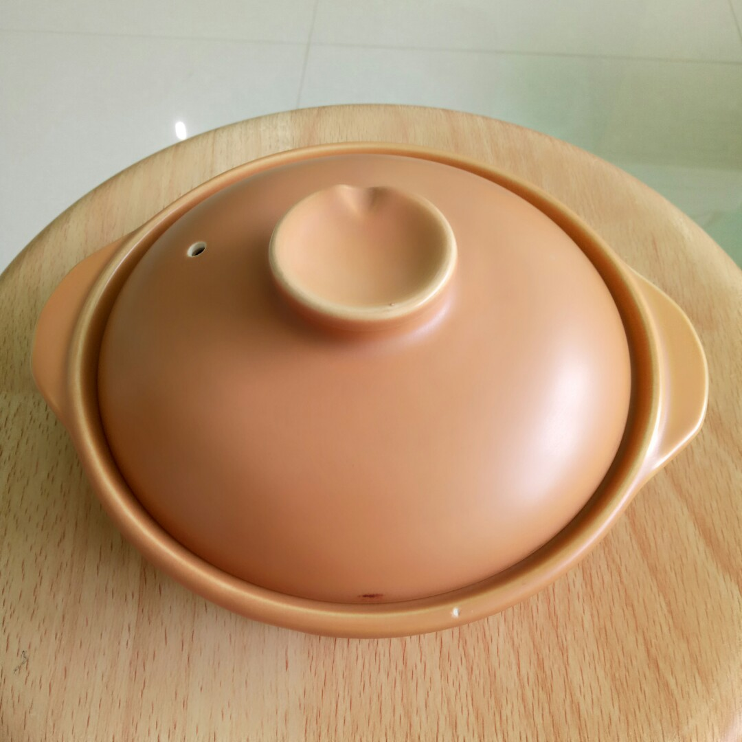 18cm Diameter Bakeware & Ovenware Cookware, Dining & Bar 2019 New Style Authentic Chinese One Handle Earthen Clay Pot With Lid