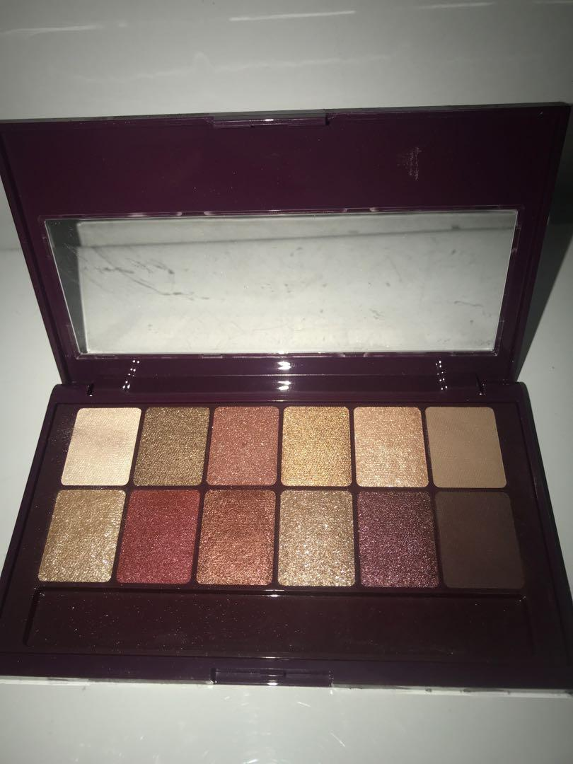 MAYBELLINE - burgundy bar palette