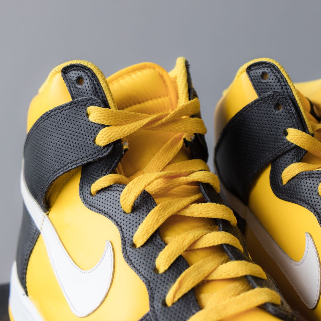 Purchase \u003e nike yellow high tops, Up to