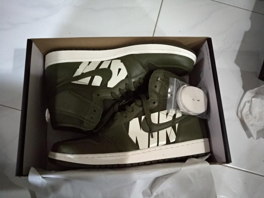 3e0f0ca8557a Nike Jordan 1 Retro High Olive