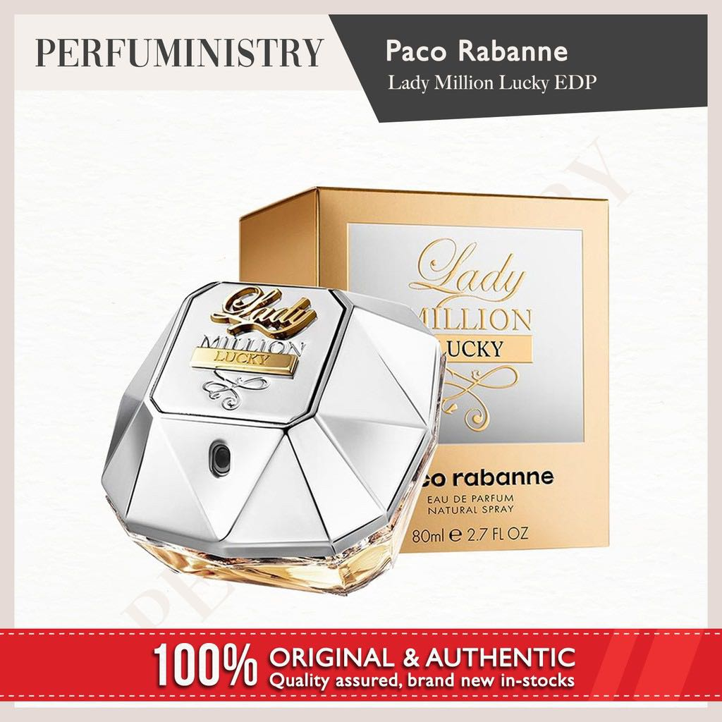 Perfuministry Paco Rabanne Lady Million Lucky Edp Health Beauty