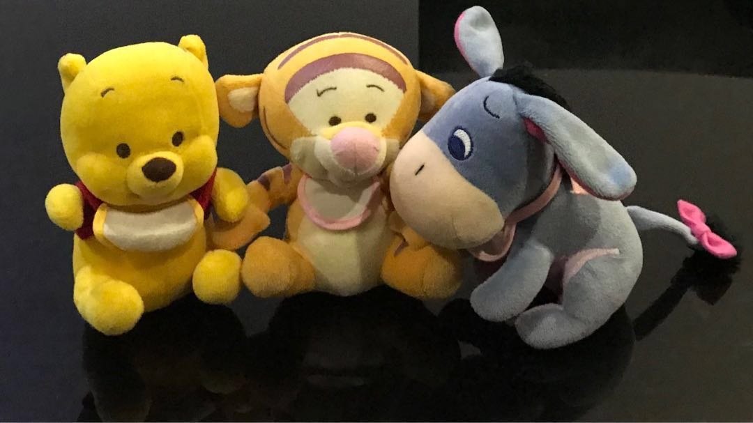 8908694fea5c Pooh Bear and friends  stuff toy  soft toy  baby Pooh  Hundred Acre ...