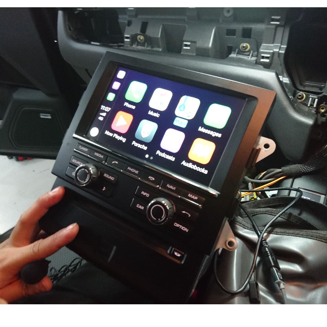 Porsche Pcm3 1 Carplay Car Accessories Accessories On Carousell