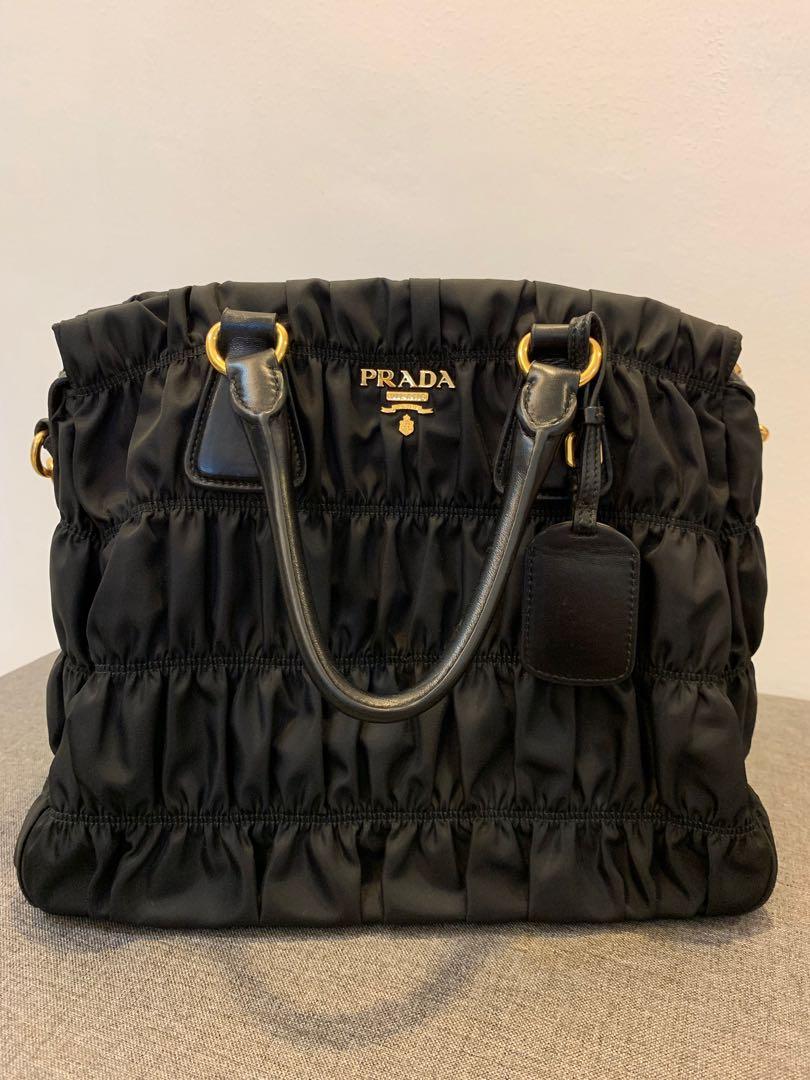 8ece70c65d94 Prada Nylon Tote Bag, Luxury, Bags & Wallets, Handbags on Carousell