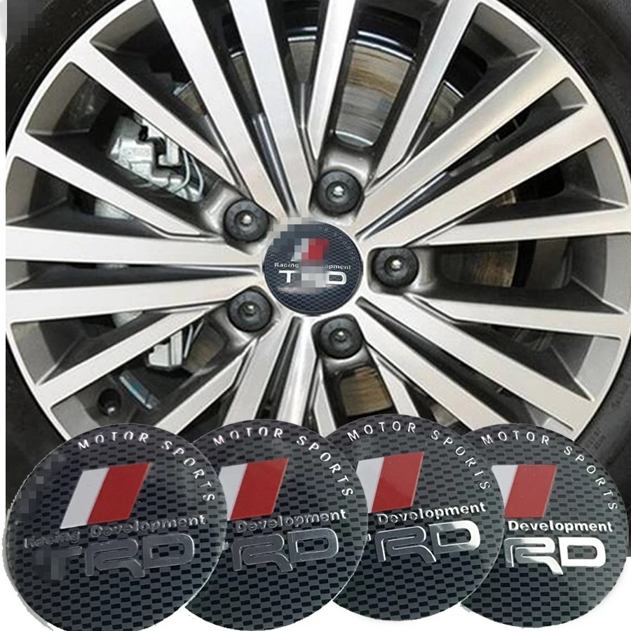 Pre Order 4pcs Lots For Trd Logo Car Tires Steering Wheel Center Hub