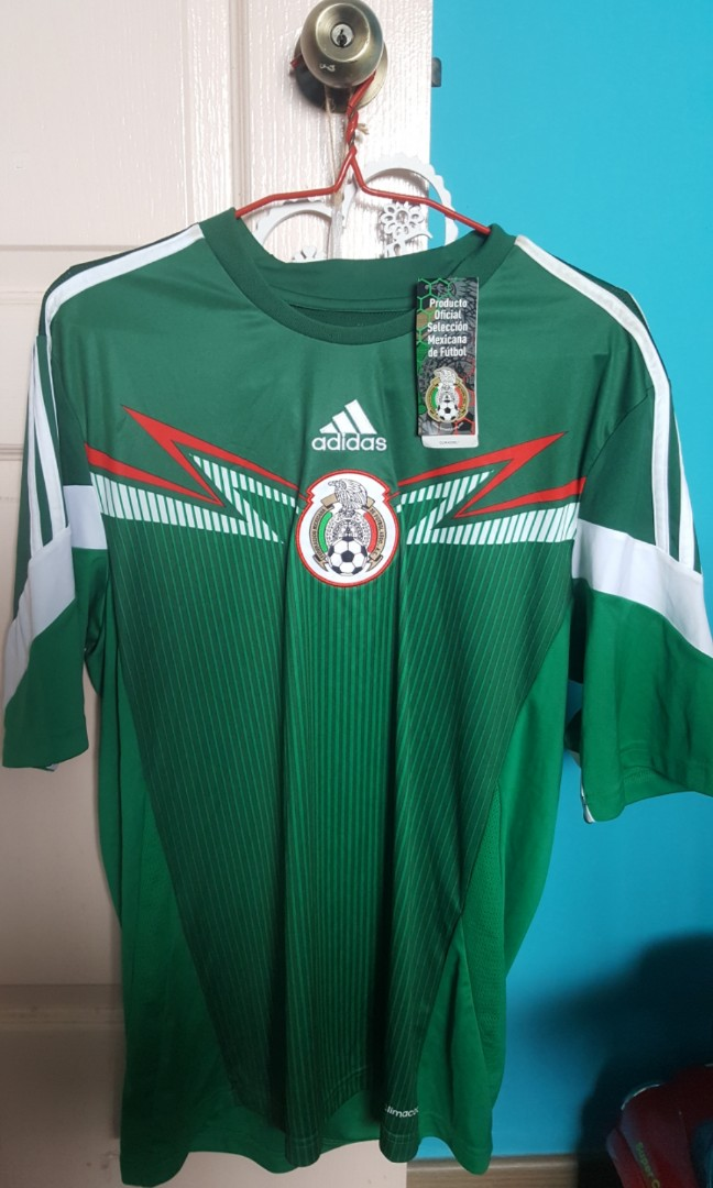 0946bfe51ff Pre-loved Adidas Mexico Jersey, Men's Fashion, Clothes, Tops on ...