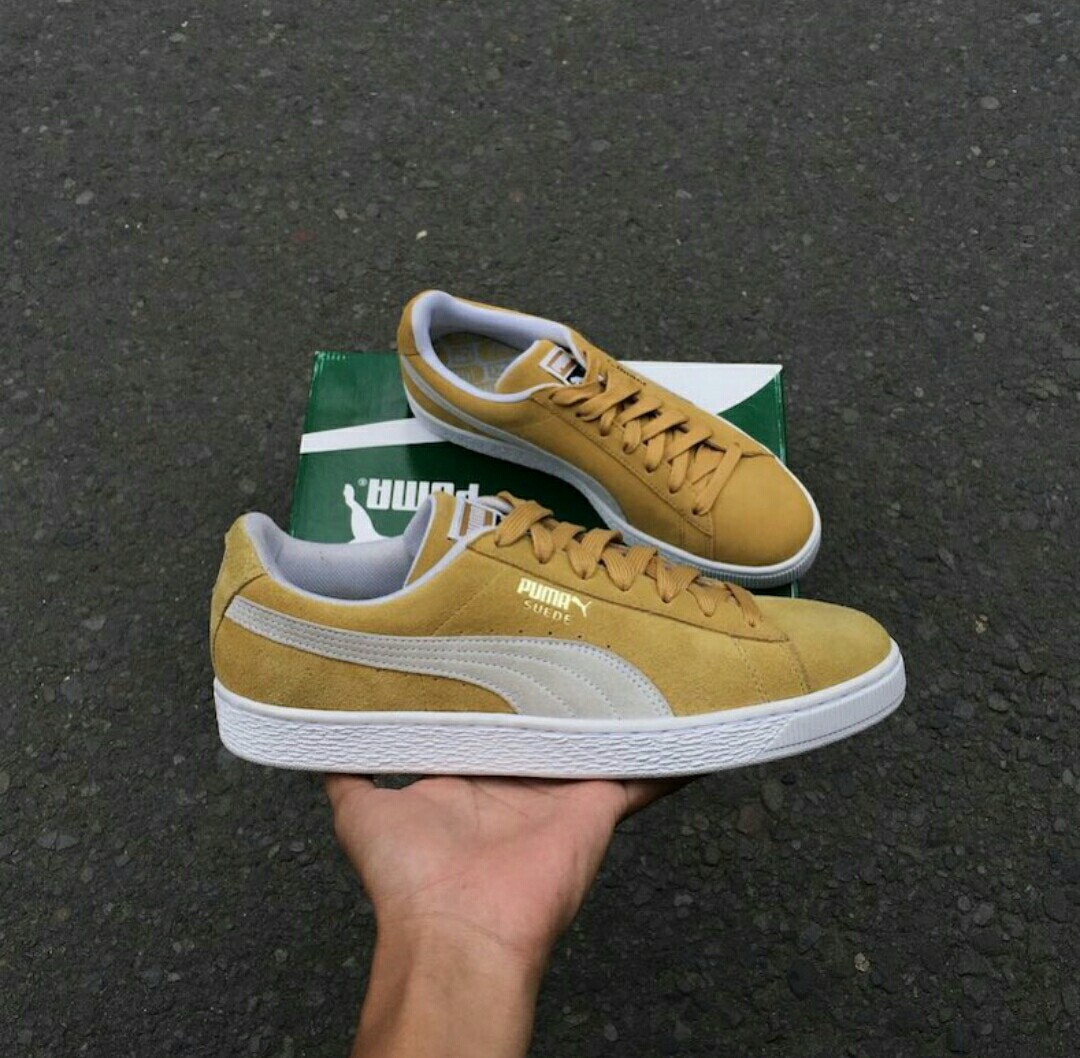 a71d83597cb1 Puma suede honey mustard original