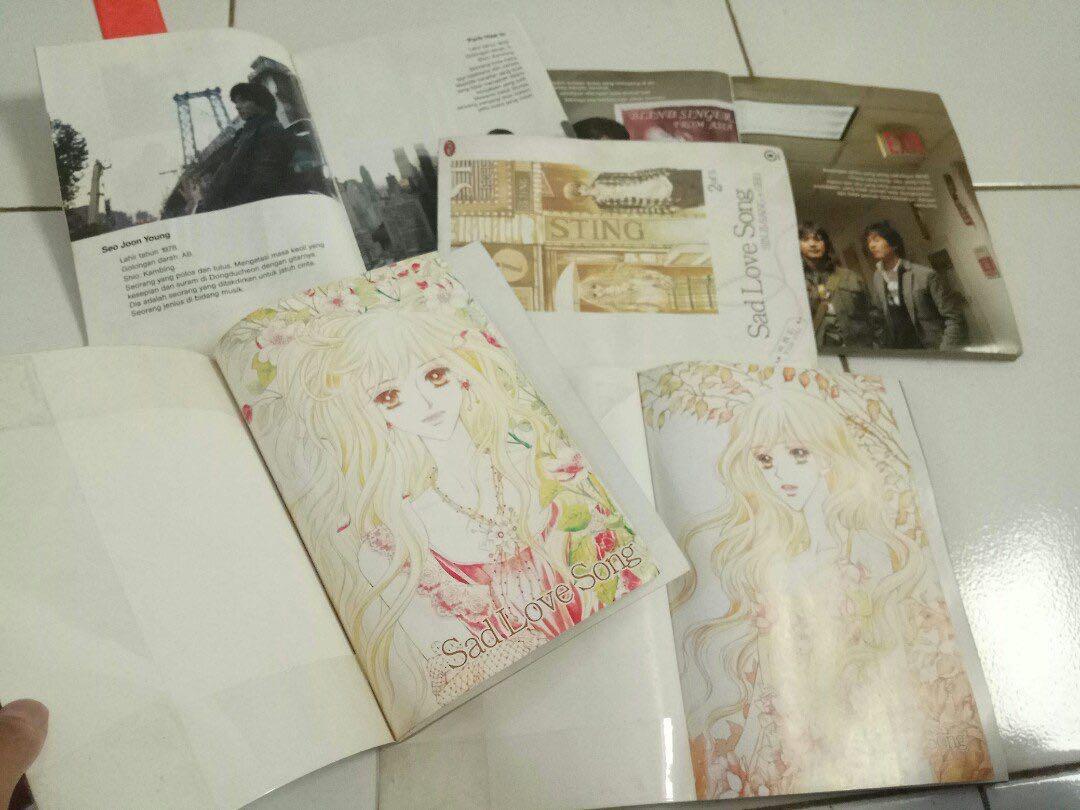 Sad love song komik seri full lengkap drama jepang, Books