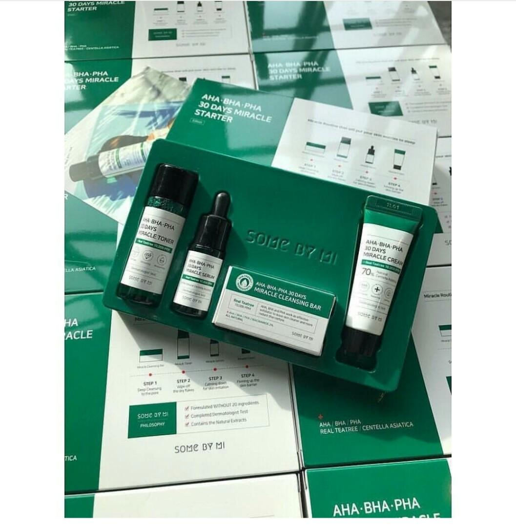 SOME BY MI AHA BHA PHA 30 DAYS MIRACLE MINI STARTER KIT