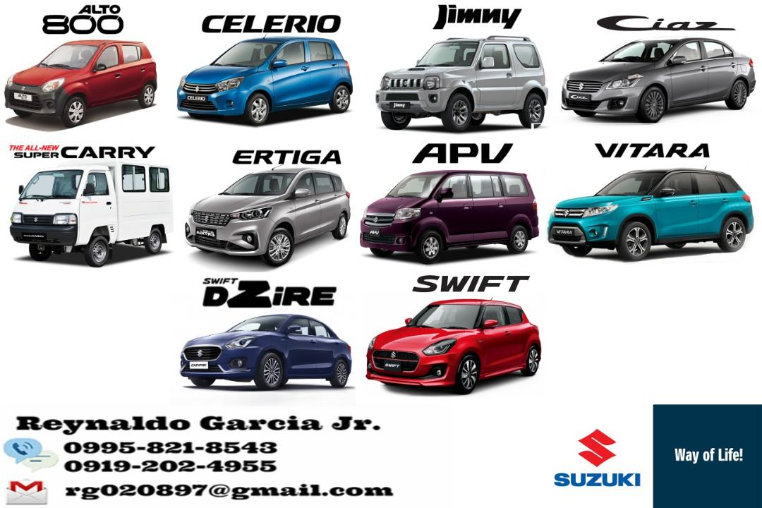 Suzuki Low Downpayment High Discount Call or Text 0919-202-4955