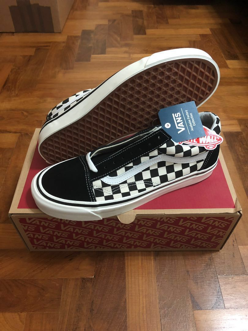 29ae5839b80 Vans Old Skool 36 DX Checkerboard