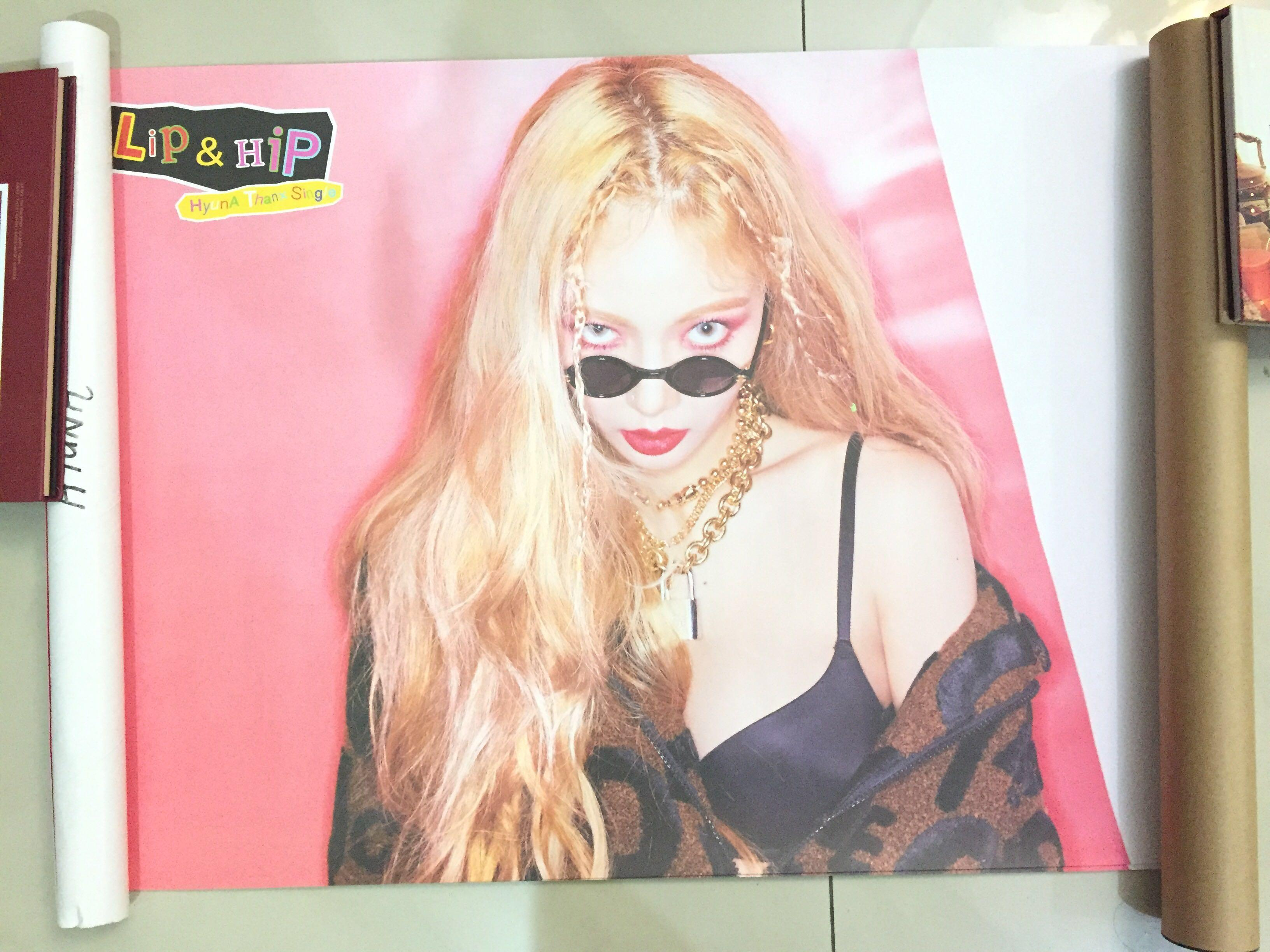 [WTS] HYUNA LIP AND HIP OFFICIAL POSTER