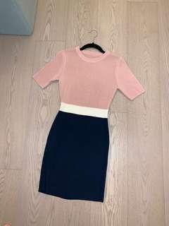 韓國連身裙 Korean skinny dress UK size 6