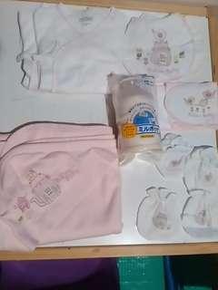 Mides 初生嬰兒服及奶粉盛器