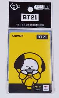 T-Money X BT21 (Chimmy) - Limited Edition #SpringCleanAndCarouSell50