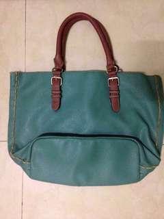 Emerald Green Hand Bag