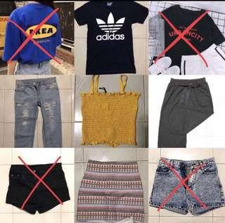 Uzzlang tops and jeans clearance SALE