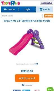 Grow N up pink slide