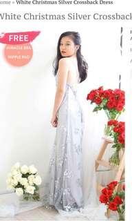 Bash crossback prom dress