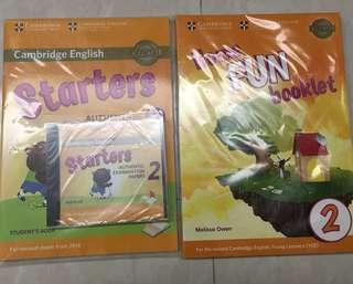 Cambridge English for Starters (Authentic Examination Paper and Fun for Starters) 全套8折