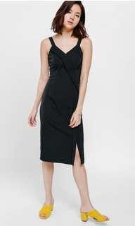 🚚 Love Bonito - Felinda Foldover Slit Dress - BRAND NEW NOT WORN