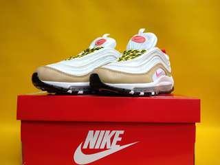 Nike AirMax 97 White / Cream / Bullet Pink