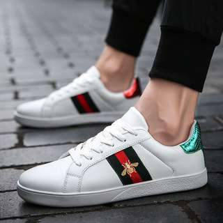 d5fb20568b4 Gucci Ace Leather Sneakers