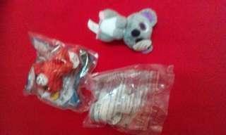 McD soft toys