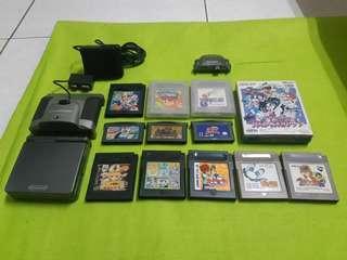 🚚 GAME BOY ADVANCE SP任天堂高亮版型號101七成新卡帶有218款遊戲