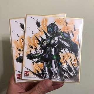 Bandai 幪面超人 色紙ART 2 -WOZ (假面騎士 拉打 Kamen Rider ) 4th