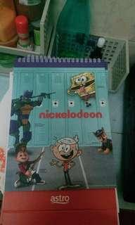 Nicklodeon Table Calender 2019