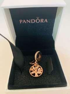 Authentic Pandora Family Heritage Pendant Charm