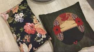 Fancy floral and art cushions