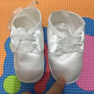 New baptismal shoes for newborn