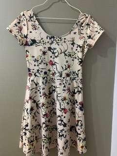 🚚 Pink Floral Dress