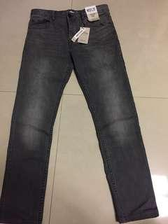 🚚 Jean grey  stretch slim w32 l32