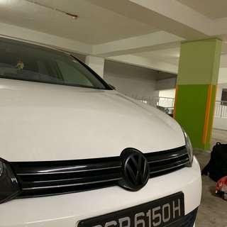 Volkswagen Golf Plasti Dip Service Dechrome Plastidip