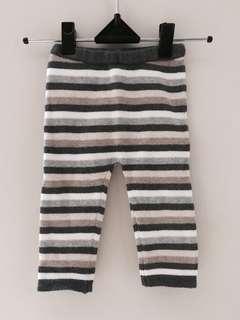 Davebella stripe celana panjang legging unisex