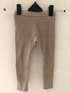Marc & Janie Taupe celana panjang legging unisex