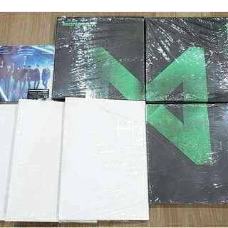 [Unsealed] Monsta X albums