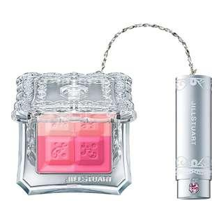 Jill Stuart with swarosvki crystal mix blusher compact N 07 Sweet Primrose