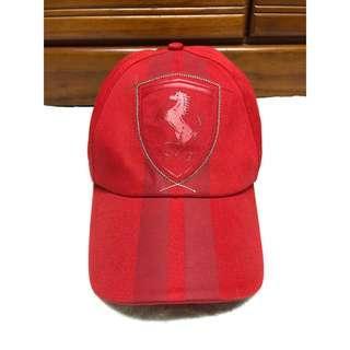 🚚 Puma Ferreri正品法拉利紀念聯名老帽 Vintage 古著 棒球帽 鴨舌帽 蓋帽 10週年款限量收藏款 紅色 男女休閒帽
