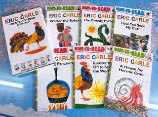NEW~ The Eric Carle Ready To Read 6 books collection