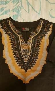 男裝印第安花紋T恤