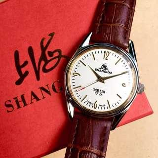 (PRICE REDUCED!) Shanghai Manual Winding Mechanical Watch
