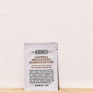 🚚 契爾氏Kiehls金盞花植物精華潔面泡泡凝露 洗面乳
