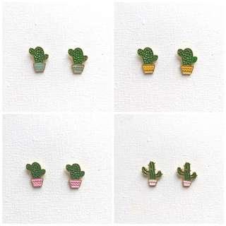 Bangkok Cactus Earrings