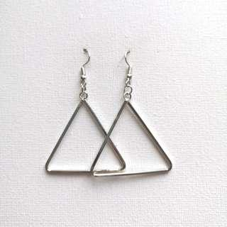 Bangkok Triangular Dangling Earrings